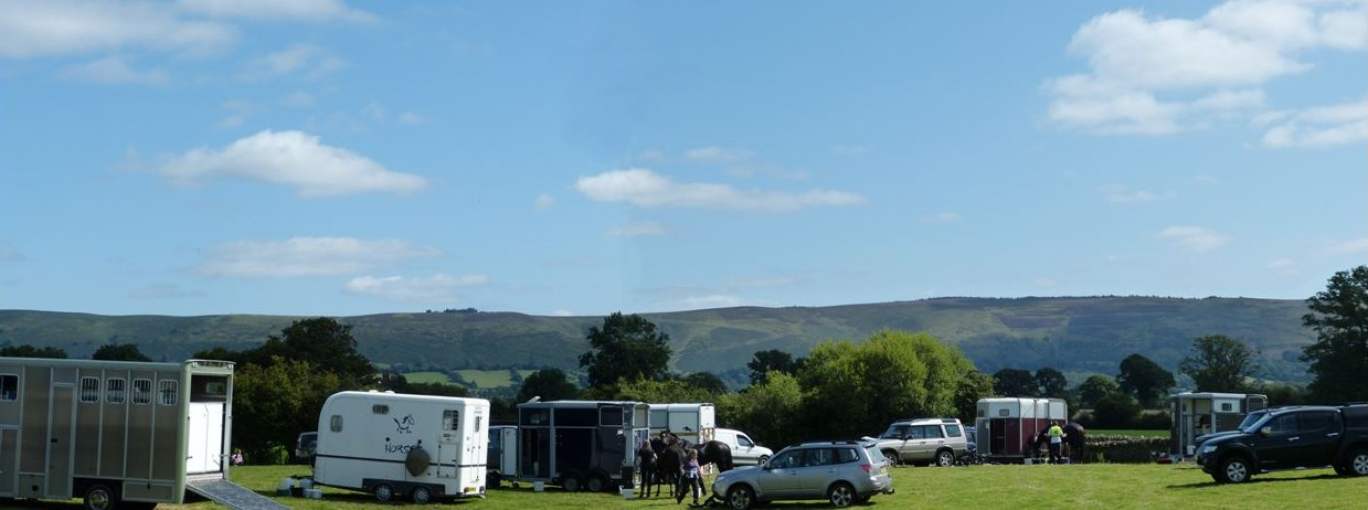 Long Mynd from venue
