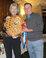 Scott Trophy - Katy Mellor collected by Terry Madden
