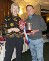 Holt Trophy - Katy Mellor collected by Terry Madden